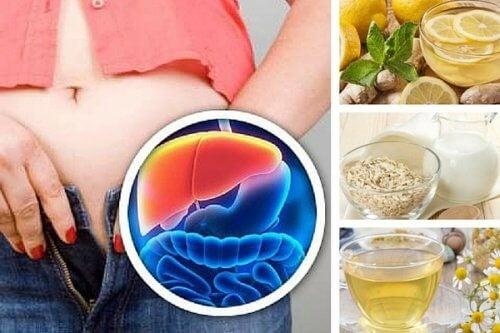 5 aftendrikke til afgiftning af leveren og vægttab