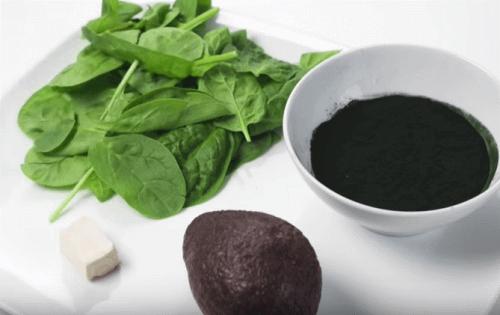 Spinat og Avocado