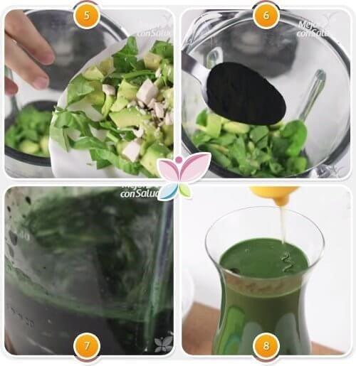 Spinat og avokado