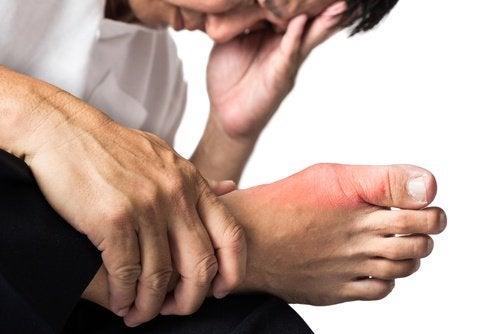 Ledsmerte i foden