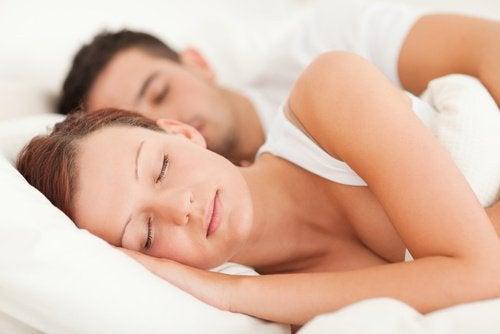 Par der sover