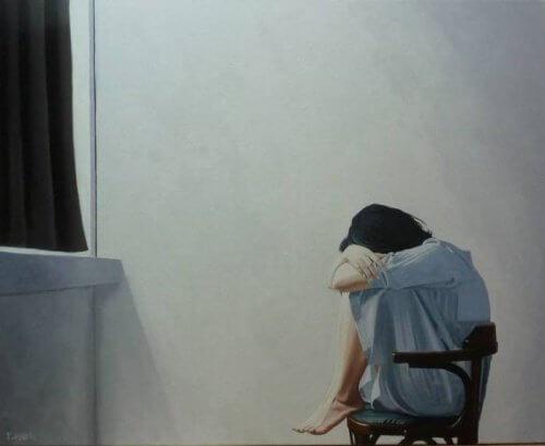 Kvinde der er ensom