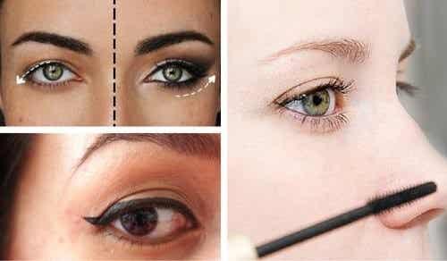 8 kosmetiske tricks til at skjule sløve øjenlåg