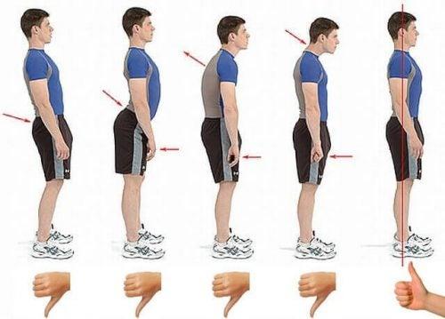 6 teknikker til at opnå en bedre kropsholdning