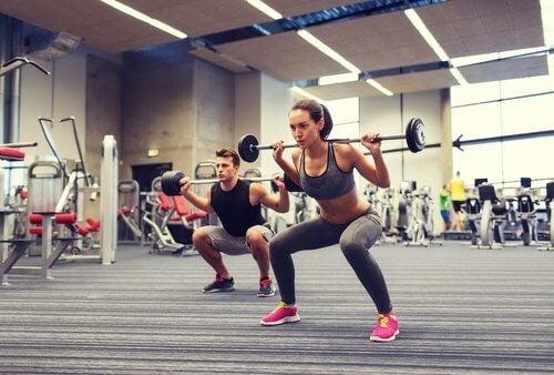 Par der loefter vaegte - motionsformer til vaegttab