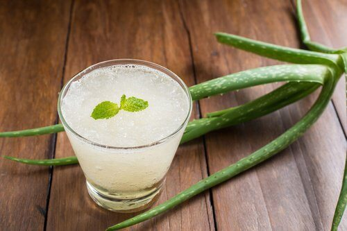 Aloe vera drik
