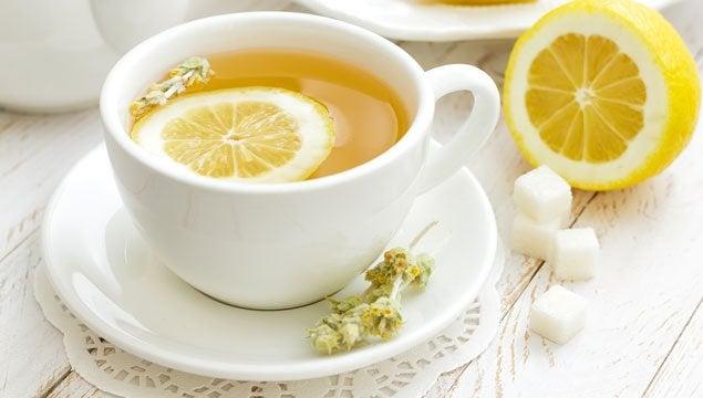 citronte er en stor del af denne afgiftningskur