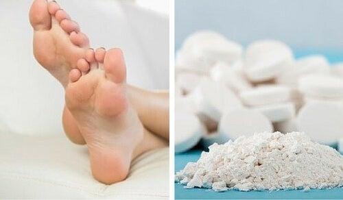 Sådan kan du fjerne hård hud med aspirin