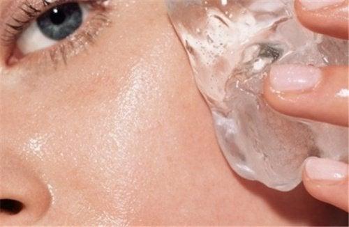 Forbedr din hud med is