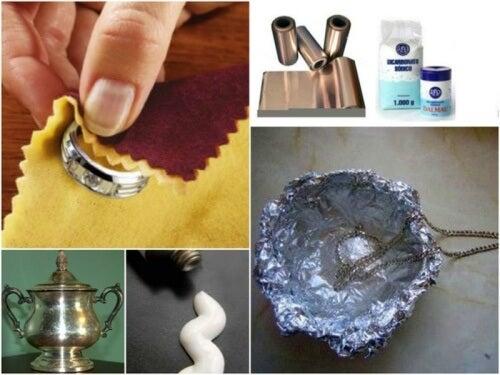 7 tricks til at rense sølvtøj derhjemme