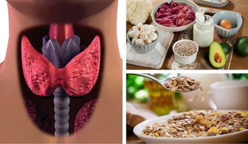 Du kan bekæmpe hypothyroidisme med mad, der øger stofskiftet