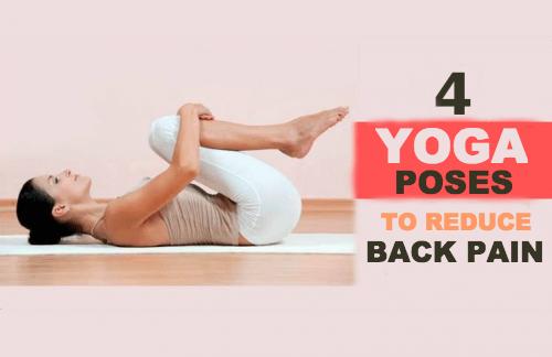 4 yogastillinger til at lindre rygsmerter