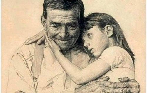 Bedsteforældre lever videre i vores hjerter