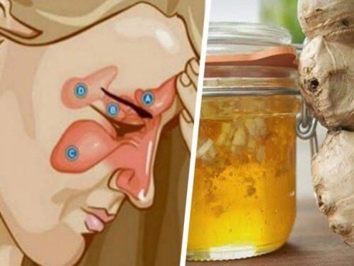 Sådan kan du lindre bihulebetændelse med kun to ingredienser