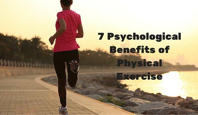 7 psykologiske fordele ved fysisk træning