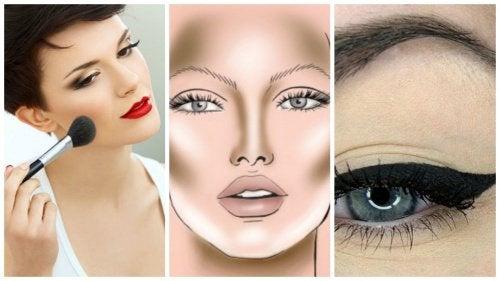 5 nemme makeuptips til at få dit ansigt til at se slankere ud