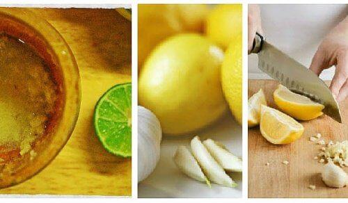Du kan tabe dig med hvidløg og citron! Se her hvordan