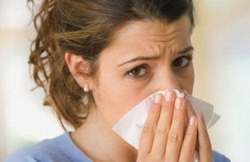 En varmepude kan også hjælpe mod en tilstoppet næse, ved at øge blodcirkulationen.