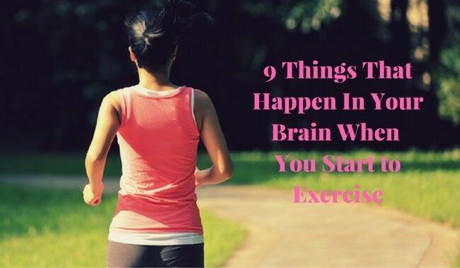 9 ting der sker i din hjerne, når du træner