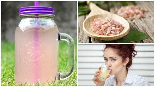 Tab dig og få energi med basisk vand