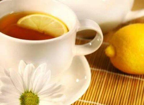 citronskræl kan bruges i te