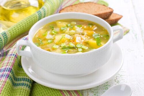 Boullion suppe