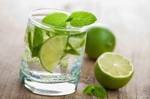 Ved at drikke citronvand før morgenmaden kan du forebygge urinvejsinfektioner