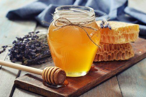 Krukke med honning