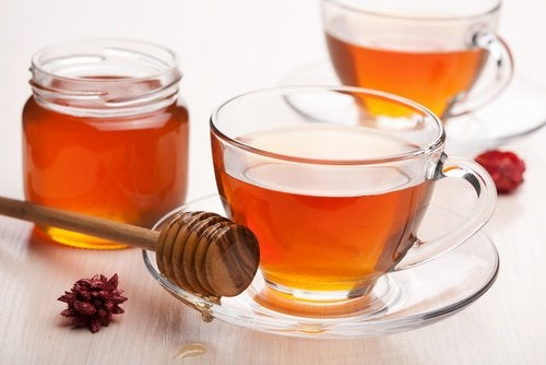Honning te