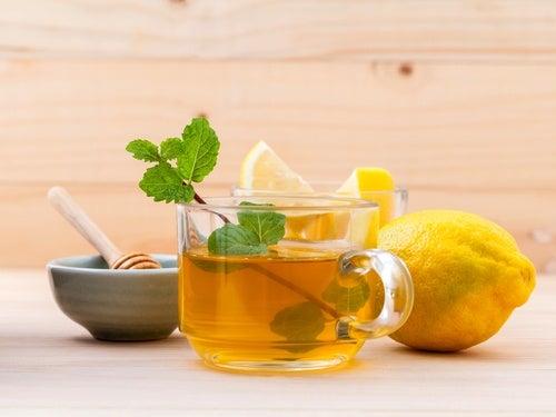 Ingefaervan og citroner