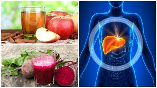 5 hjemmelavede drikke til at detoxe leveren