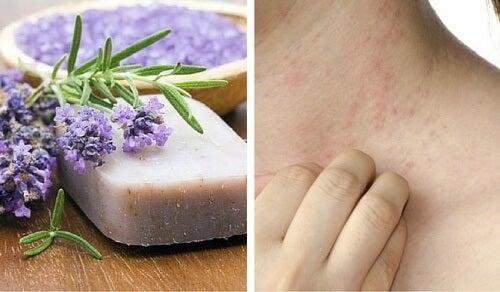 Særlig hjemmelavet sæbe til sart hud og dermatitis