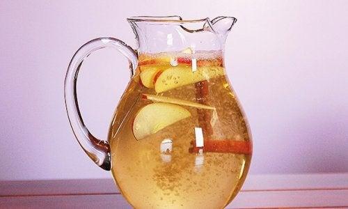 Kanelvand med æble og citron til vægttab: Så sundt!