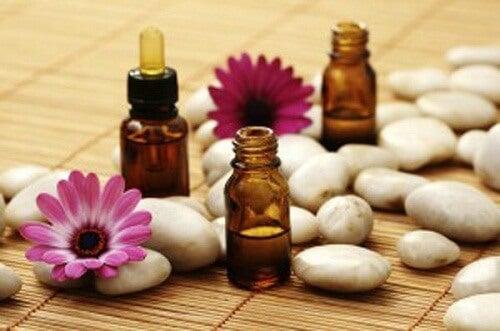 Aromaterapi kan hjælpe med at løsne spændte muskler.