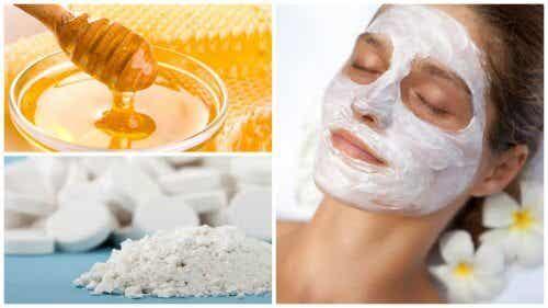 Sådan laver du en aspirin- og honning maske