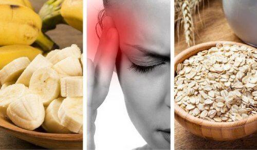 9 fødevarer mod udmattethed og hovedpine