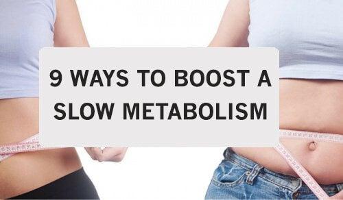 9 tips til at sætte skub i langsomt stofskifte
