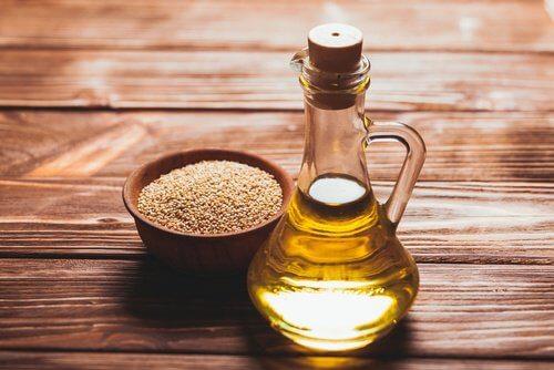 Sesamfroe olie