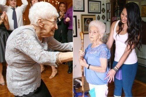Hvordan yoga ændrede kropsholdningen og livet for en 87-årig kvinde