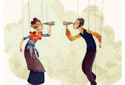 2 marionetter