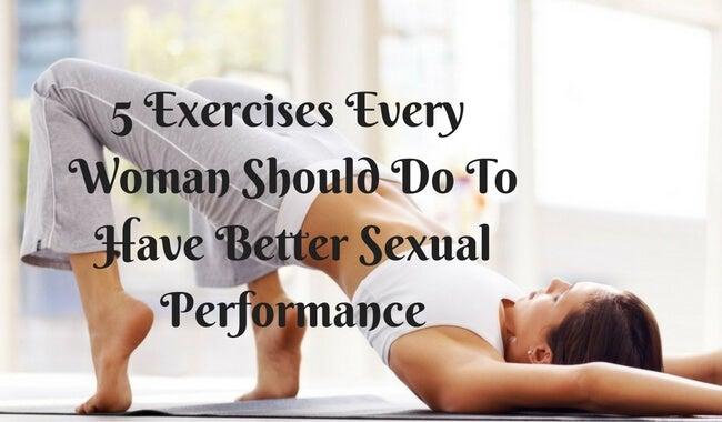 5 øvelser alle kvinder burde lave for at få bedre sex