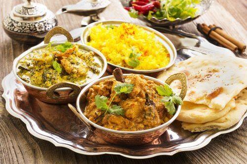Indisk maaltid
