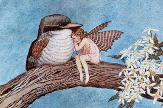 Pige og en fugl