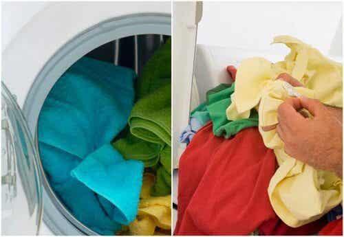Brug hvid eddike næste gang, du vasker tøj