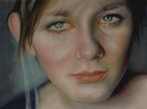 Kvinde med depression