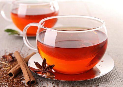 Te og kanel