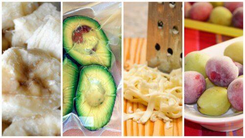 9 overraskende fødevarer, der kan fryses ned