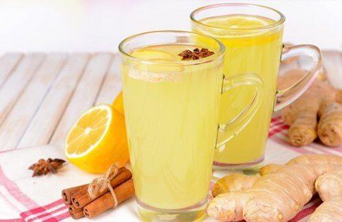 Bekæmp infektion og opløs nyresten med denne specielle ingefær te