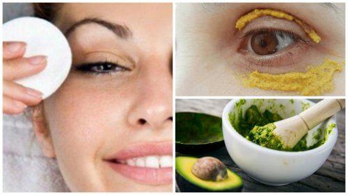6 naturlige metoder til at mindske mørke rander under dine øjne