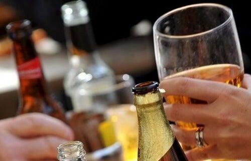 Personer der drikker alkohol